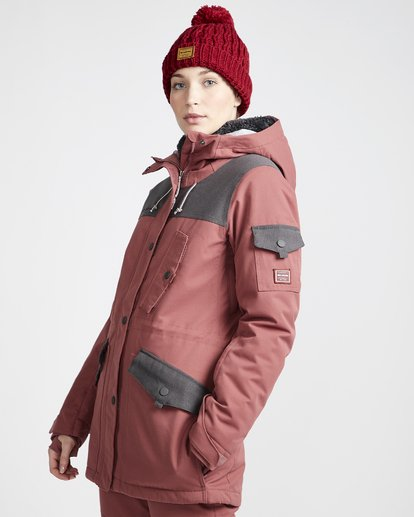1 Women's Scenic Route Snow Jacket Purple JSNJVBSR Billabong