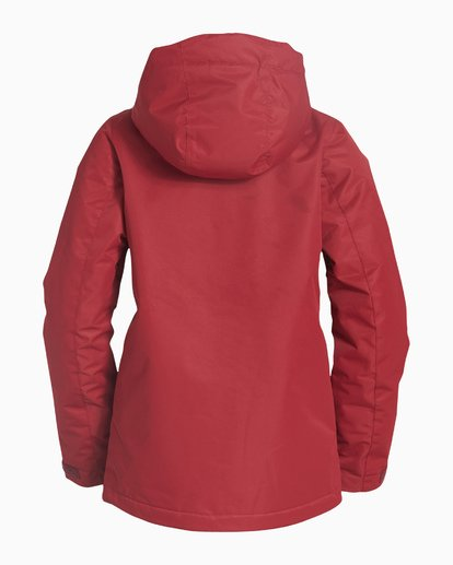 5 Women's Sula Snow Jacket Red JSNJVBSU Billabong