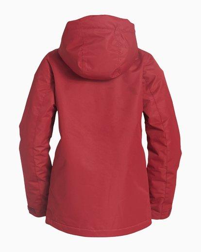 5 Women's Sula Snow Jacket Red JSNJVBSU Billabong