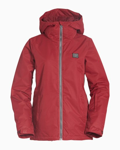 4 Women's Sula Snow Jacket Red JSNJVBSU Billabong