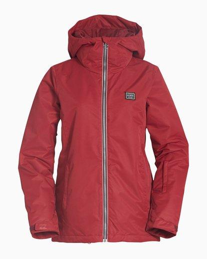 4 Women's Sula Snow Jacket Red JSNJVBSU Billabong