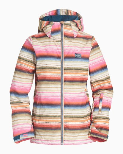 4 Women's Sula Snow Jacket Grey JSNJVBSU Billabong