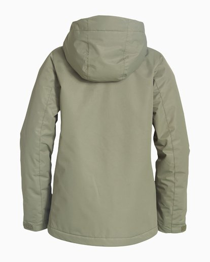 5 Women's Sula Snow Jacket Green JSNJVBSU Billabong