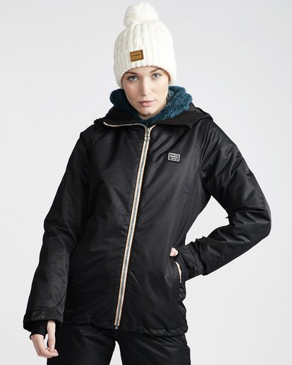 1 Women's Sula Snow Jacket Black JSNJVBSU Billabong