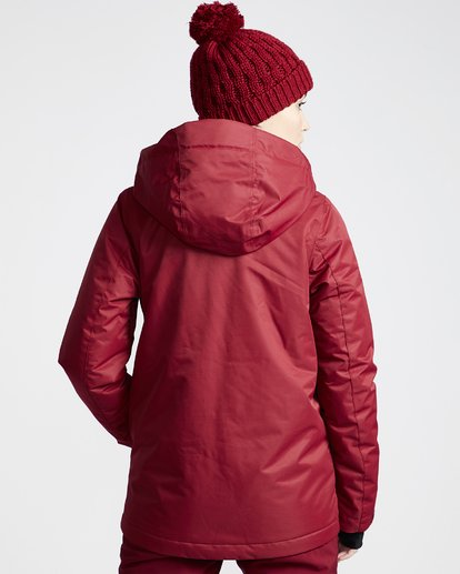 2 Women's Sula Snow Jacket Red JSNJVBSU Billabong