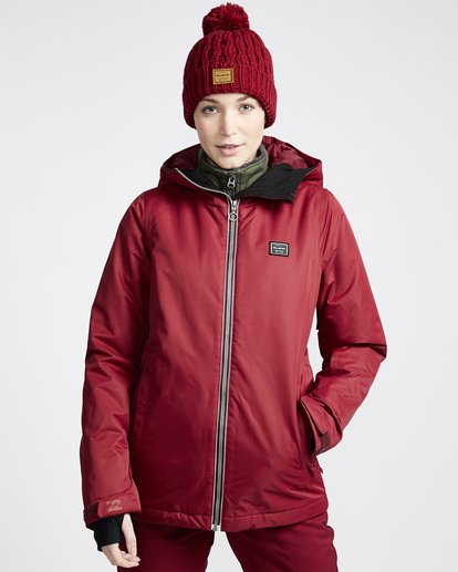 0 Women's Sula Snow Jacket Red JSNJVBSU Billabong