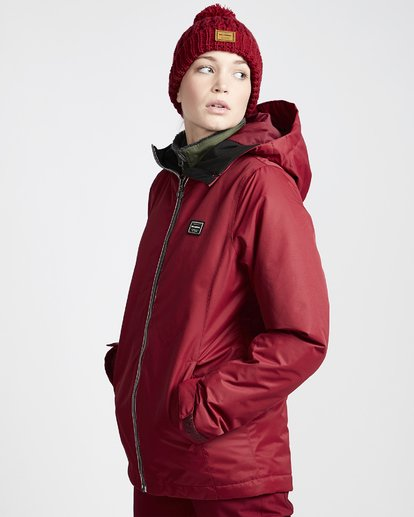 1 Women's Sula Snow Jacket Red JSNJVBSU Billabong
