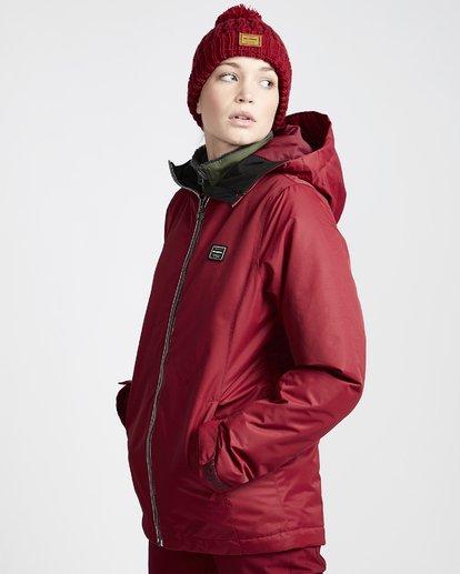 1 Women's Sula Snow Jacket Red JSNJVBSU Billabong