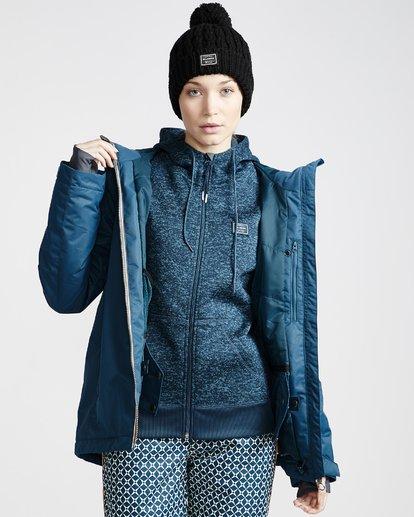 3 Women's Sula Snow Jacket Blue JSNJVBSU Billabong