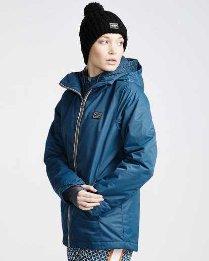 1 Women's Sula Snow Jacket Blue JSNJVBSU Billabong