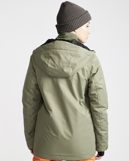 2 Women's Sula Snow Jacket Green JSNJVBSU Billabong