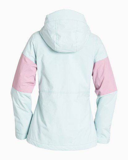 6 Women's Say What Snow Jacket Blue JSNJVBSW Billabong