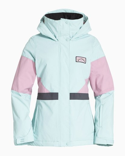 5 Women's Say What Snow Jacket Blue JSNJVBSW Billabong