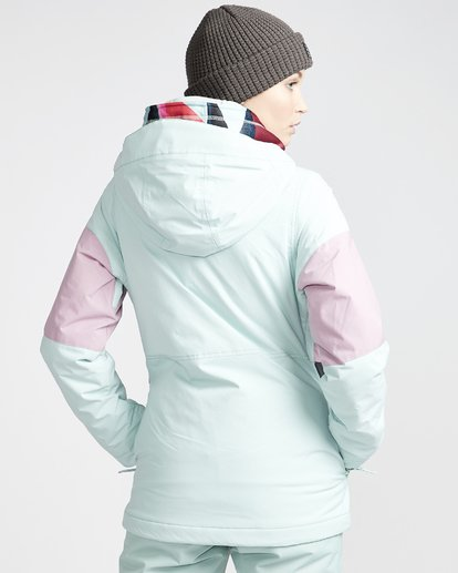 3 Women's Say What Snow Jacket Blue JSNJVBSW Billabong