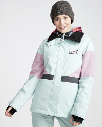 1 Women's Say What Snow Jacket Blue JSNJVBSW Billabong