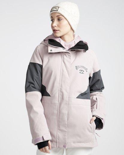 0 Women's Say What Snow Jacket Purple JSNJVBSW Billabong