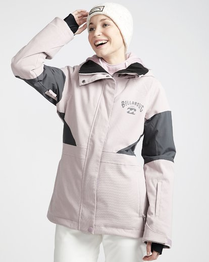 1 Women's Say What Snow Jacket Purple JSNJVBSW Billabong