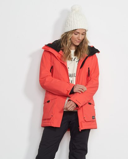 0 Women's Trooper Snow Jacket Red JSNJVBTS Billabong