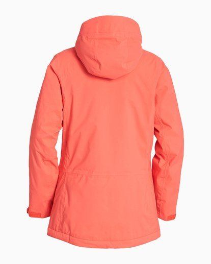 6 Women's Trooper Snow Jacket Red JSNJVBTS Billabong
