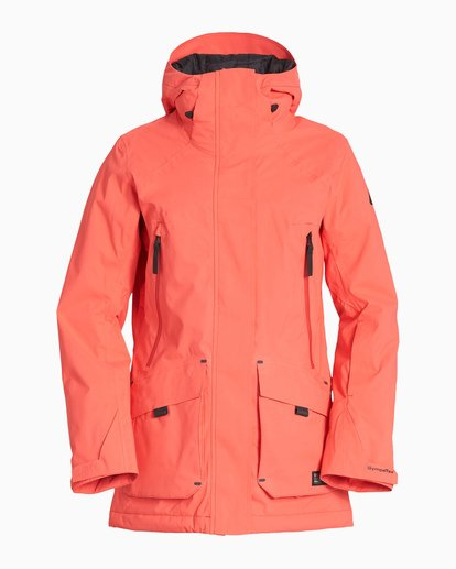 5 Women's Trooper Snow Jacket Red JSNJVBTS Billabong