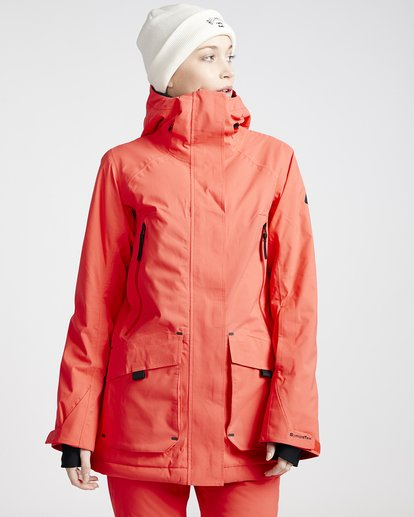1 Women's Trooper Snow Jacket Red JSNJVBTS Billabong
