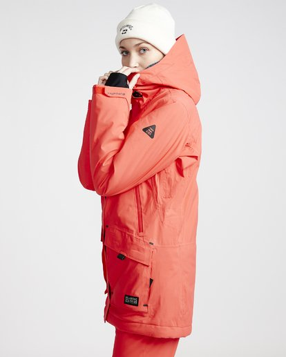 2 Women's Trooper Snow Jacket Red JSNJVBTS Billabong