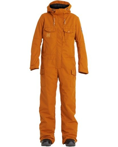 6 Women's Break Of Dawn Snow Suit Brown JSNP3BBD Billabong