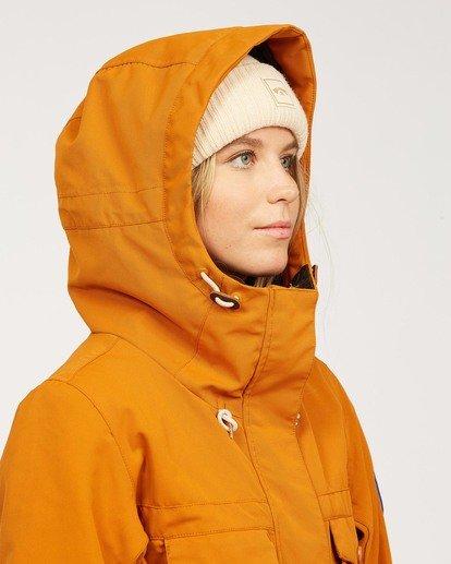 8 Women's Break Of Dawn Snow Suit Brown JSNP3BBD Billabong