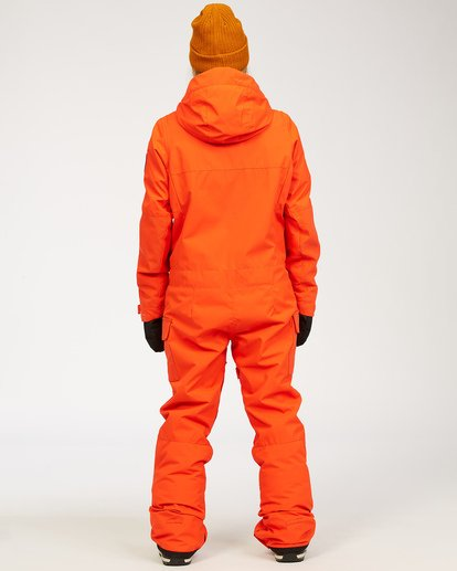 3 Women's Break Of Dawn Snow Suit Orange JSNP3BBD Billabong