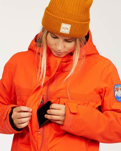 4 Women's Break Of Dawn Snow Suit Orange JSNP3BBD Billabong