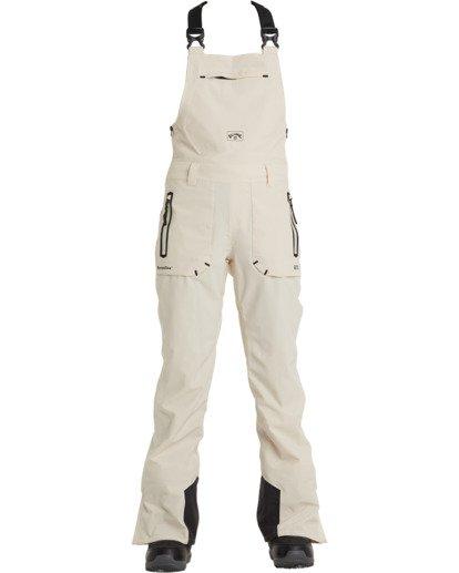 7 A/DIV Women's Drifter STX Snow Bibs White JSNP3BDR Billabong
