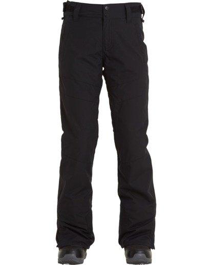 6 Women's Malla Snow Pants Black JSNP3BMA Billabong