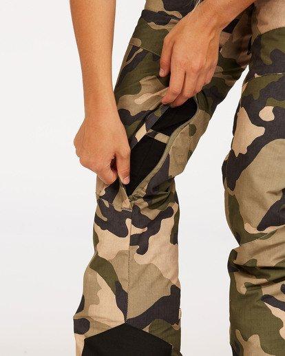 4 Women's Malla Snow Pants Black JSNP3BMA Billabong