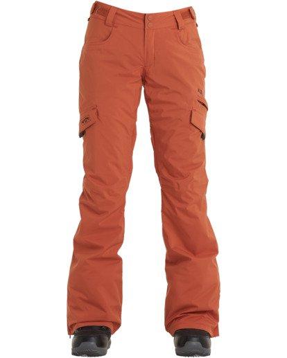 6 A/DIV Women's Nela Snow Pants Red JSNP3BNE Billabong