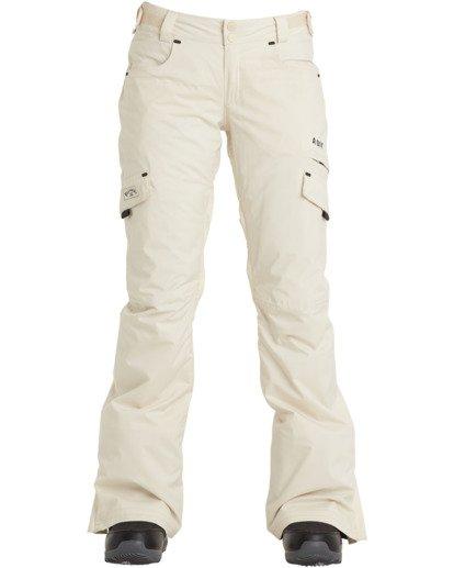 6 A/DIV Women's Nela Snow Pants White JSNP3BNE Billabong
