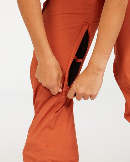 4 A/DIV Women's Nela Snow Pants Red JSNP3BNE Billabong