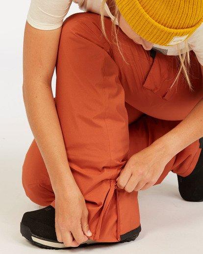 5 A/DIV Women's Nela Snow Pants Red JSNP3BNE Billabong