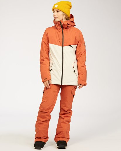 3 A/DIV Women's Nela Snow Pants Red JSNP3BNE Billabong