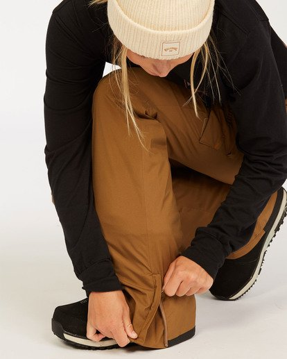 5 A/DIV Women's Nela Snow Pants Brown JSNP3BNE Billabong