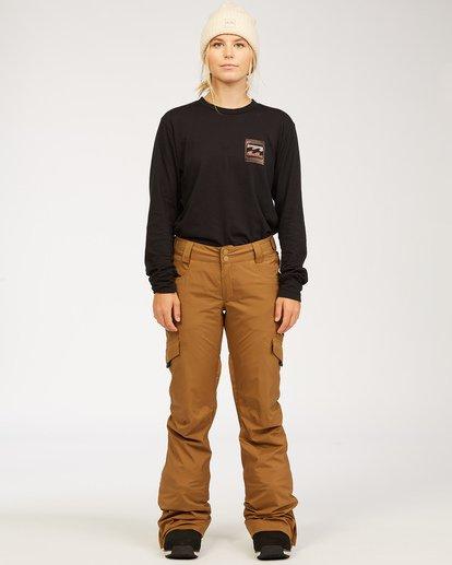 0 A/DIV Women's Nela Snow Pants Brown JSNP3BNE Billabong
