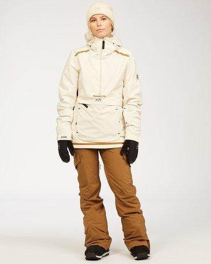 3 A/DIV Women's Nela Snow Pants Brown JSNP3BNE Billabong