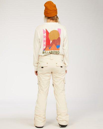 2 A/DIV Women's Nela Snow Pants White JSNP3BNE Billabong