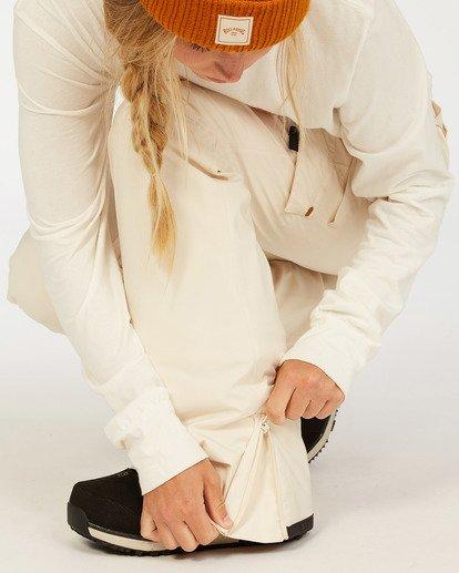 5 A/DIV Women's Nela Snow Pants White JSNP3BNE Billabong