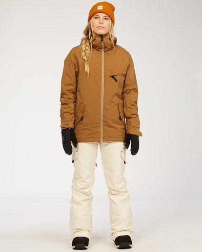 3 A/DIV Women's Nela Snow Pants White JSNP3BNE Billabong