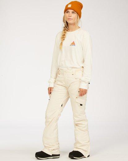 1 A/DIV Women's Nela Snow Pants White JSNP3BNE Billabong