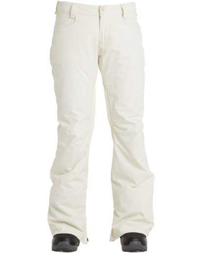 6 Women's Terry Snow Pants White JSNP3BTE Billabong