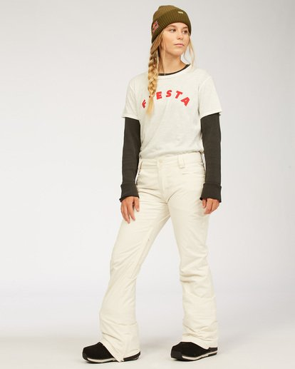 1 Women's Terry Snow Pants White JSNP3BTE Billabong