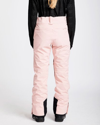 3 Women's Gaia Snow Pants Pink JSNPQGAI Billabong