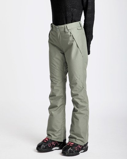 1 Women's Malla Outerwear Pants Green JSNPQMAL Billabong