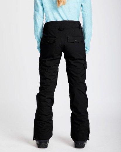 2 Women's Nela Slim Fit Outerwear Pants Black JSNPQNEL Billabong